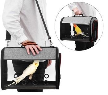 X-ZONE PET Bird Travel Bag