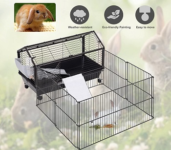 PawHut Small Animal Cage