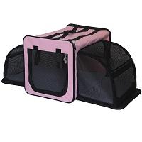Pet Life Capacious Expandable Dog Crate