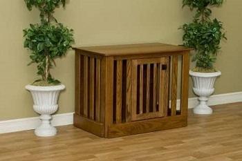 Pinnacle Woodcraft Amish Wood Crate