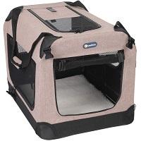 Veehoo Folding Soft Dog Crate Summary