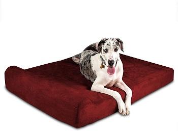 ig Barker 7 Pillow Top Dog Bed